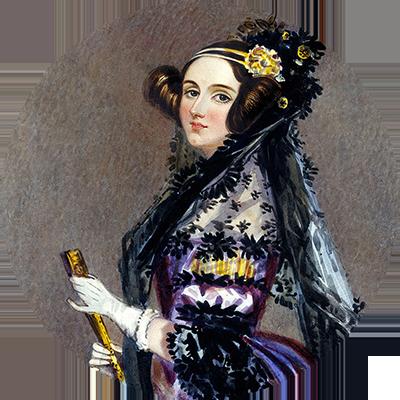 Rund bild Ada Lovelace Inaktiv