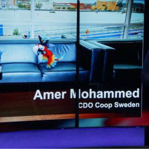 amer mohammed coop digital kompetens skärm CDO